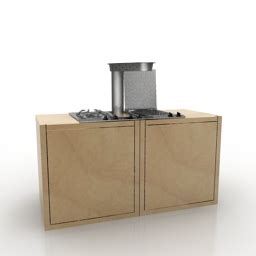 3d design kitchen 3d model cooker category quot kitchen 31 quot interior collection 1083