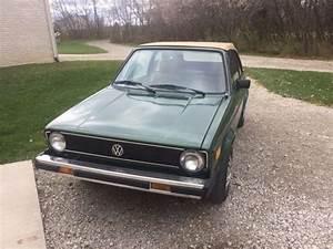 1981 Volkswagen Rabbit Convertible For Sale