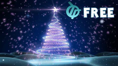 christmas tree background animation youtube