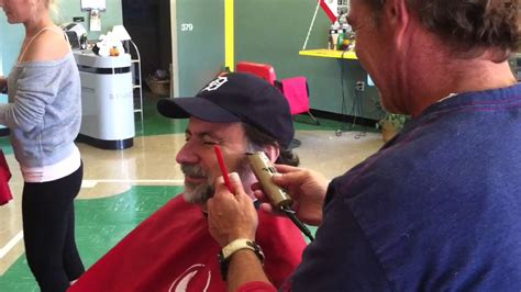Tim Miller Gets His Beard Shaved Off! Youtube