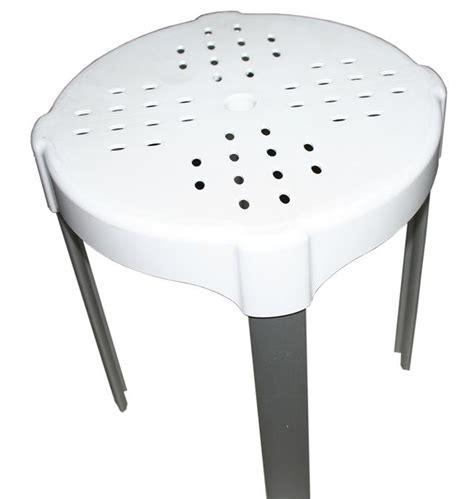 Sgabello Da Bagno Sgabello Da Bagno H 38 Bianco K Design Portata Max Kg 150