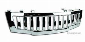 Chrome Grill Hammer Front For Nissan Frontier Navara D40