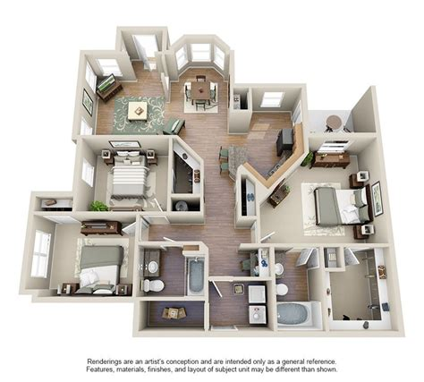 Three Bedroom Apartments For Rent by One Two Three Bedroom Apartments For Rent Villas At