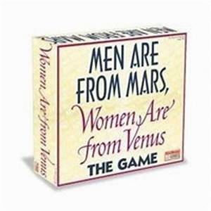 Men Are From Mars, Women Are From Venus Rules ...