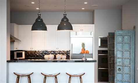 light gray kitchen walls design ideas