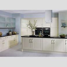 Cream Gloss Shaker Kitchen