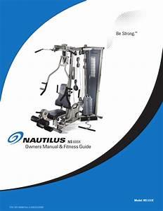 Nautilus Be Strong  Ns 600x User Manual