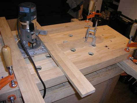 router planing jig unfinished bench  bbnova