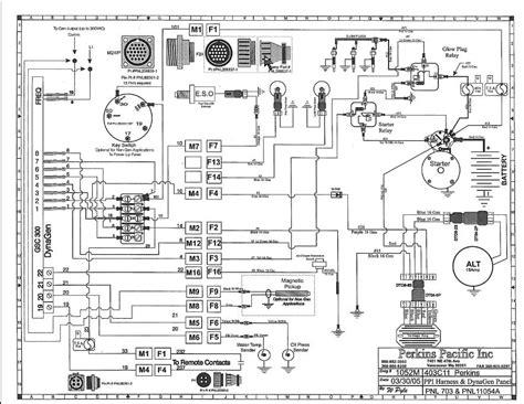 perkins diesel engine wiring electropak
