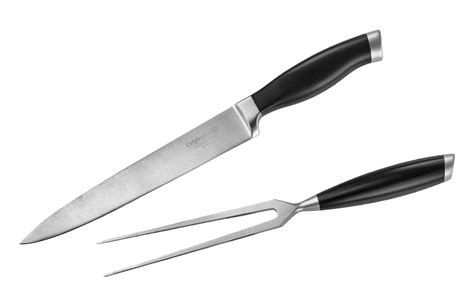 calphalon contemporary carving set  piece cutlery