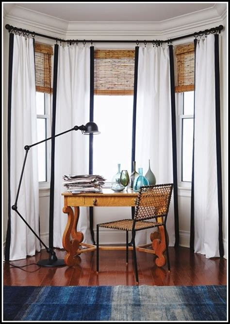 white sheer curtains with black trim curtains home