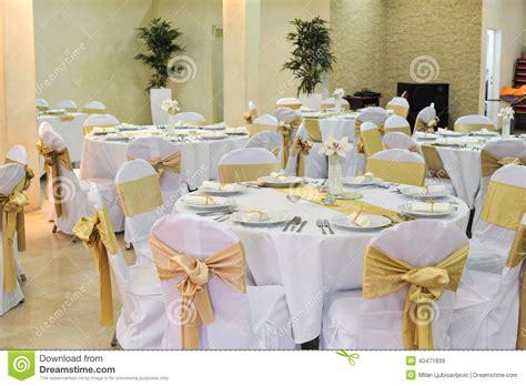 wedding tables and chairs wedding hall setup stock photo image 40471839