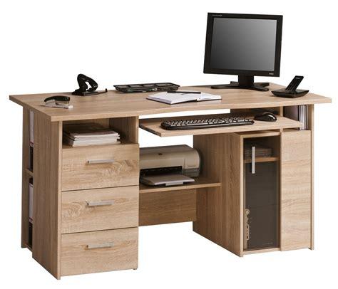 wooden storage box maja capital oak computer desk