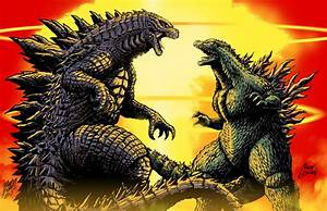 Godzilla vs Godzilla by Matt Frank and MASH by ...
