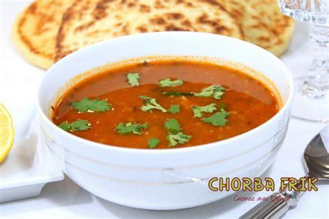 cuisine de djouza chorba frik la cuisine de djouza