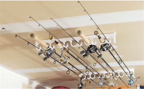 ceiling mount fishing pole holder rod racks and rod holders for your sports