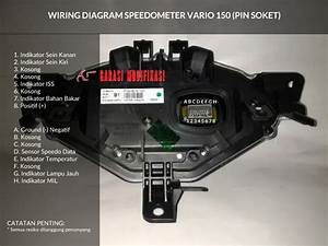 Wiring Diagram Speedometer Honda Vario 150  U2013 Child Blog