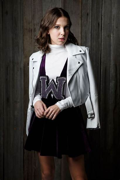 Millie Bobby Brown Calvin Klein Session Portrait