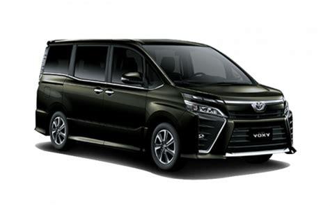 Gambar Mobil Toyota Voxy by Harga Toyota Voxy 2018 Spesifikasi Gambar Review Di