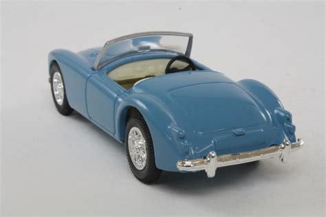 Light Blue Sports Cars by Corgi Classics 06 Mga Sports Car Open Top Light Blue 37072