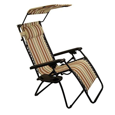 sundale outdoor zero gravity chair with canopy yellow