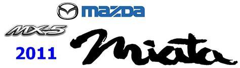 mazda mx 5 logo image gallery miata logo