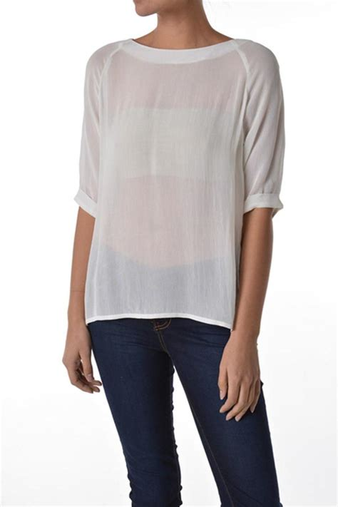 sheer white blouse sheer white blouse from nashville by the