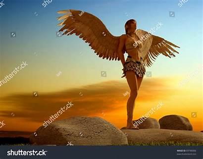 Angels Landscape Female Shutterstock