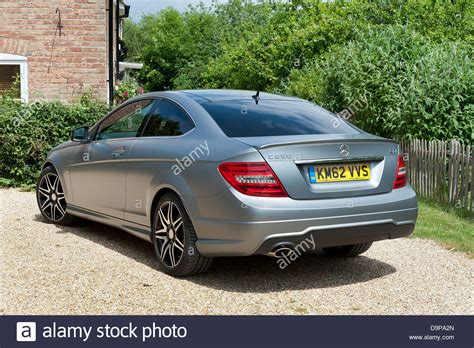 Mercedes 2013 C250 by 2013 Mercedes C250 Cdi Coupe Amg Sport Stock Photo