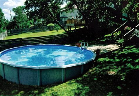 Above Ground Pool In Sloped Backyard In 2019