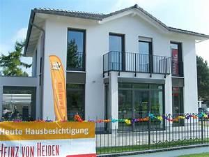 Heinz Von Heiden Häuser : heinz von heiden er ffnung des musterhauses k penick ~ A.2002-acura-tl-radio.info Haus und Dekorationen