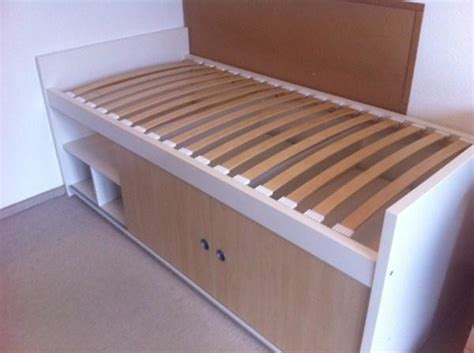 Ikea Bangsund Single Bett Inkl Lattenrost Und Matratze In