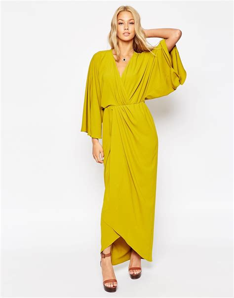 on sale ethnic kaftan 70 s kaftan wrap maxi dress modcout