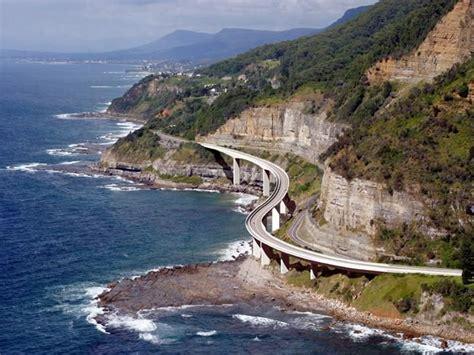 Seacliff Bridge Grand Pacific Drive Nsw Australia New