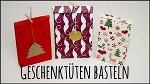 Geschenktüten Selber Basteln : geschenkt ten selber basteln anleitung youtube ~ Watch28wear.com Haus und Dekorationen