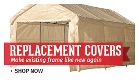 replacement carport canopy covers canopies tarps