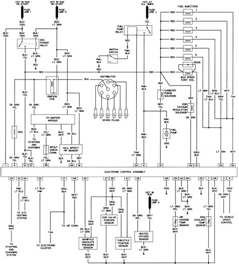 1988 Ford Thunderbird Turbo Coupe Wiring Diagram by Repair Guides Wiring Diagrams Wiring Diagrams