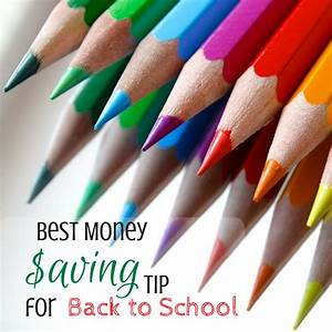Best Money Saving Tip for Back to School - donnahup.com