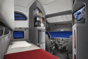Peterbilt Truck Sleeper Cab Interior