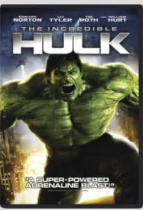 The Incredible Hulk Movie DVD Cover