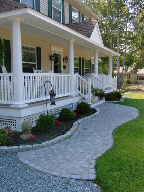 traditional exterior front porch design pictures remodel decor  ideas soooo pretty