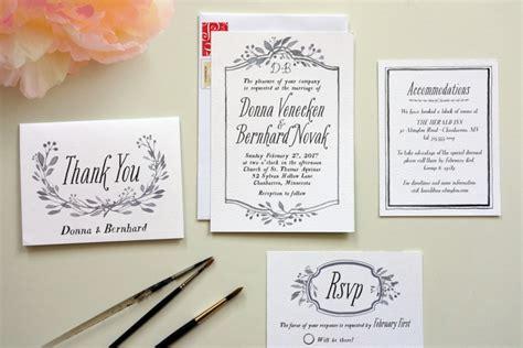 do it yourself wedding invitation cards how to diy wedding invitations