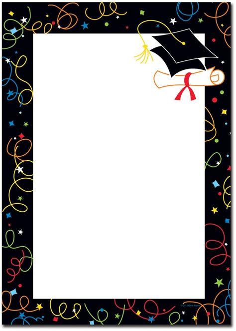 graduation borders graduation christmas stationery