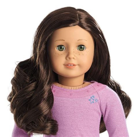 Brown Hair Name by Visual Chart Of Truly Me Dolls Adeline The Princess