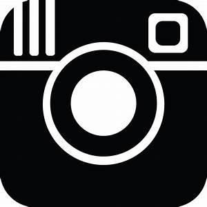 Old Instagram Logo Png Black Transparent