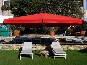 Parasol De Terrasse : parasol mini soco armature en aluminium mat centr pour terrasse jardin et piscine ~ Teatrodelosmanantiales.com Idées de Décoration