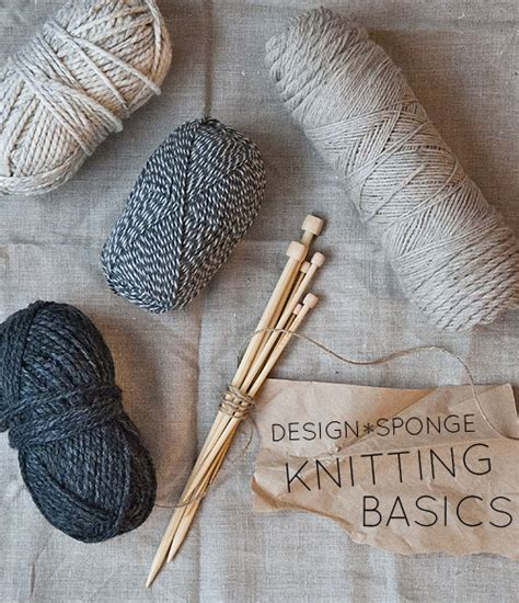 diy    year knitting basics