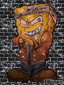 gangsta spongebob Picture #97618220 | Blingee.com