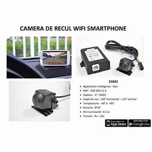 Camera De Recul Bluetooth : camera de recul wifi achat vente radar de recul camera ~ Melissatoandfro.com Idées de Décoration