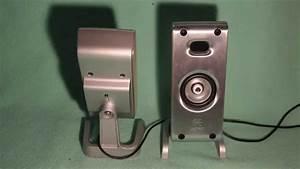 Logitech Z3 Satellite Speaker   Test